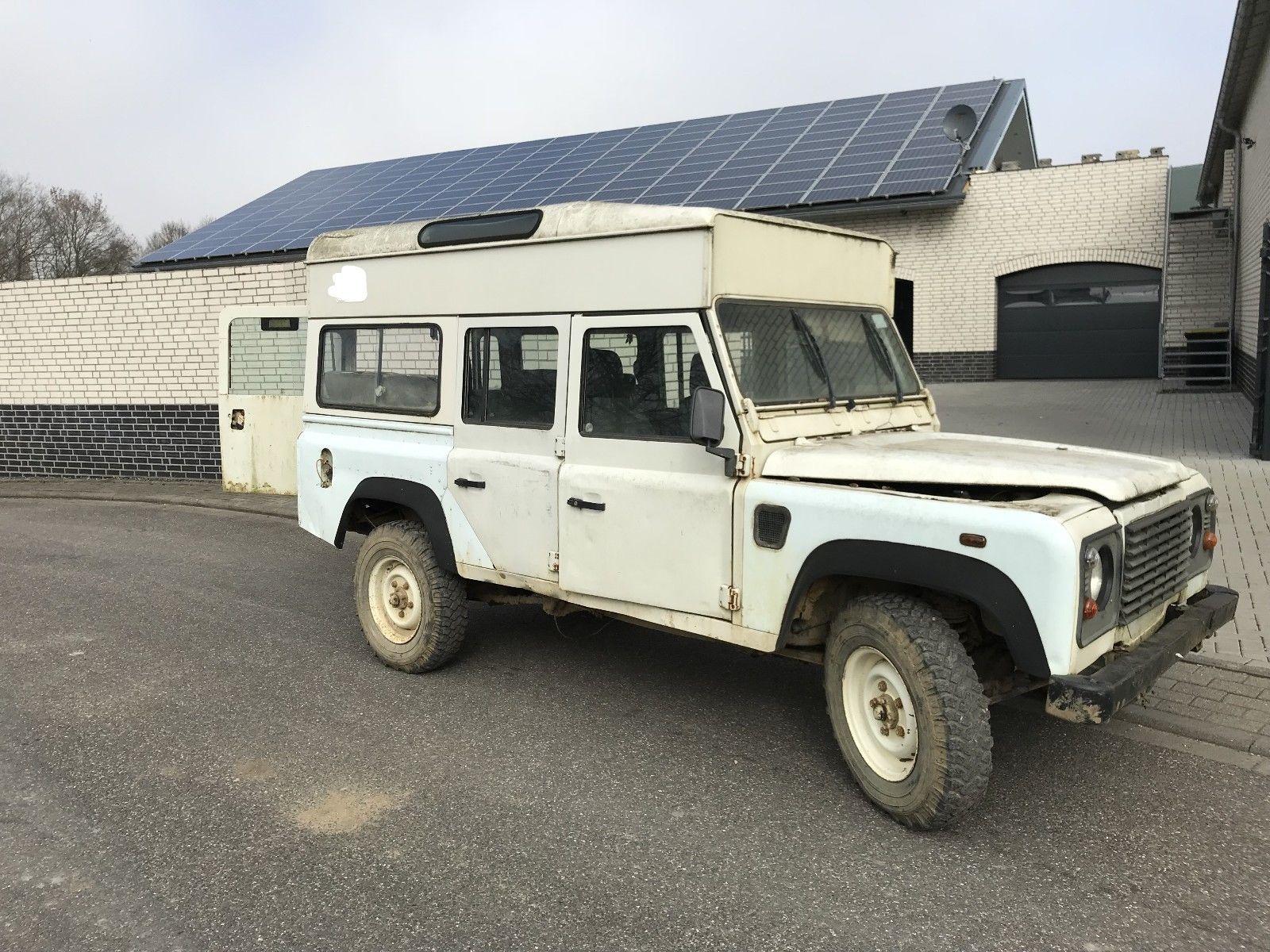 Ebay De Mobiles Gunstiger Land Rover Defender 110 Hochdach