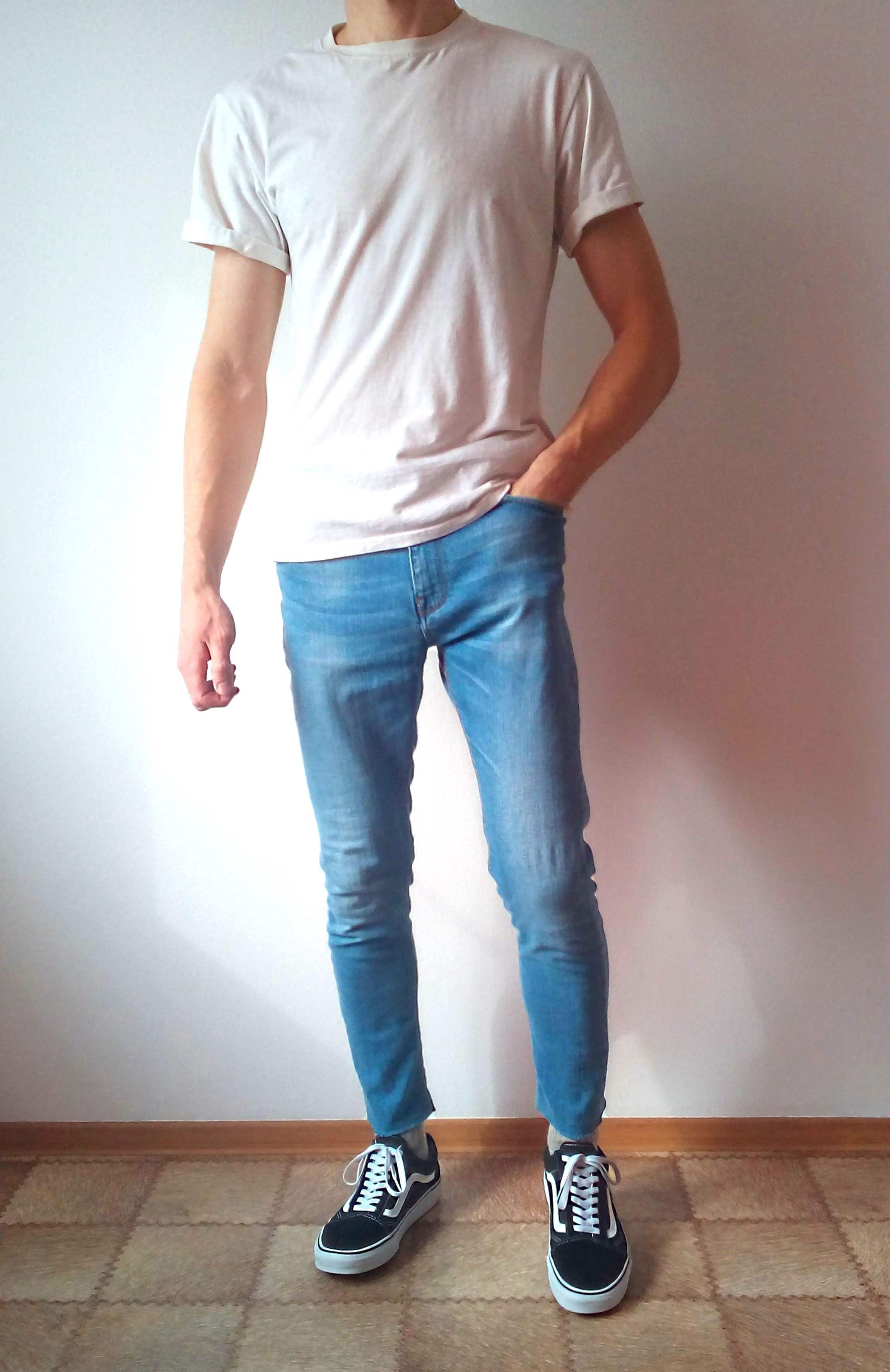 vans old skool skinny jeans boys guys outfit | vans love