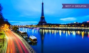 ✈ 6 Day Paris Trip w Air from Great Value Vacations Price Based on Double Occupancy Buy 1 Groupon Person