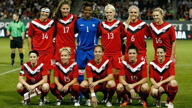 Woman S Canadian Soccer Team Womens Soccer Women S Soccer Team Soccer Team