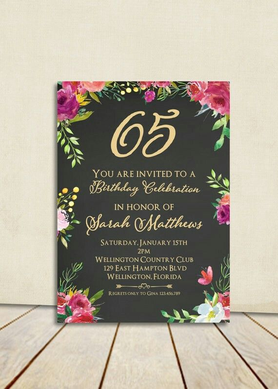 80th Birthday Cards Invitation Card 90th Parties Brunch Party