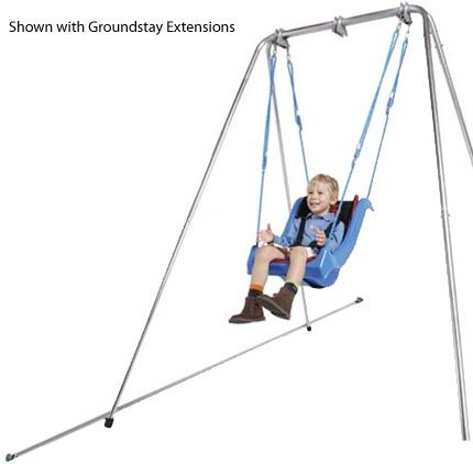 Foldaway Swing Frame | Pinterest | Sensory motor, Swings and Sensory ...
