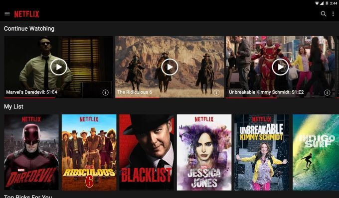 You can't download Netflix on rooted, unlocked Android