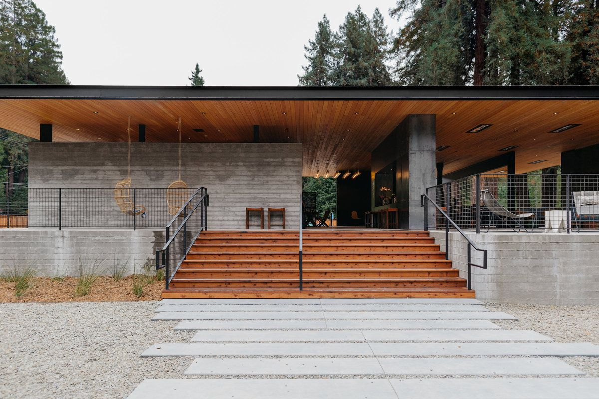 Autocamp Russian River Architecture, Glamping california