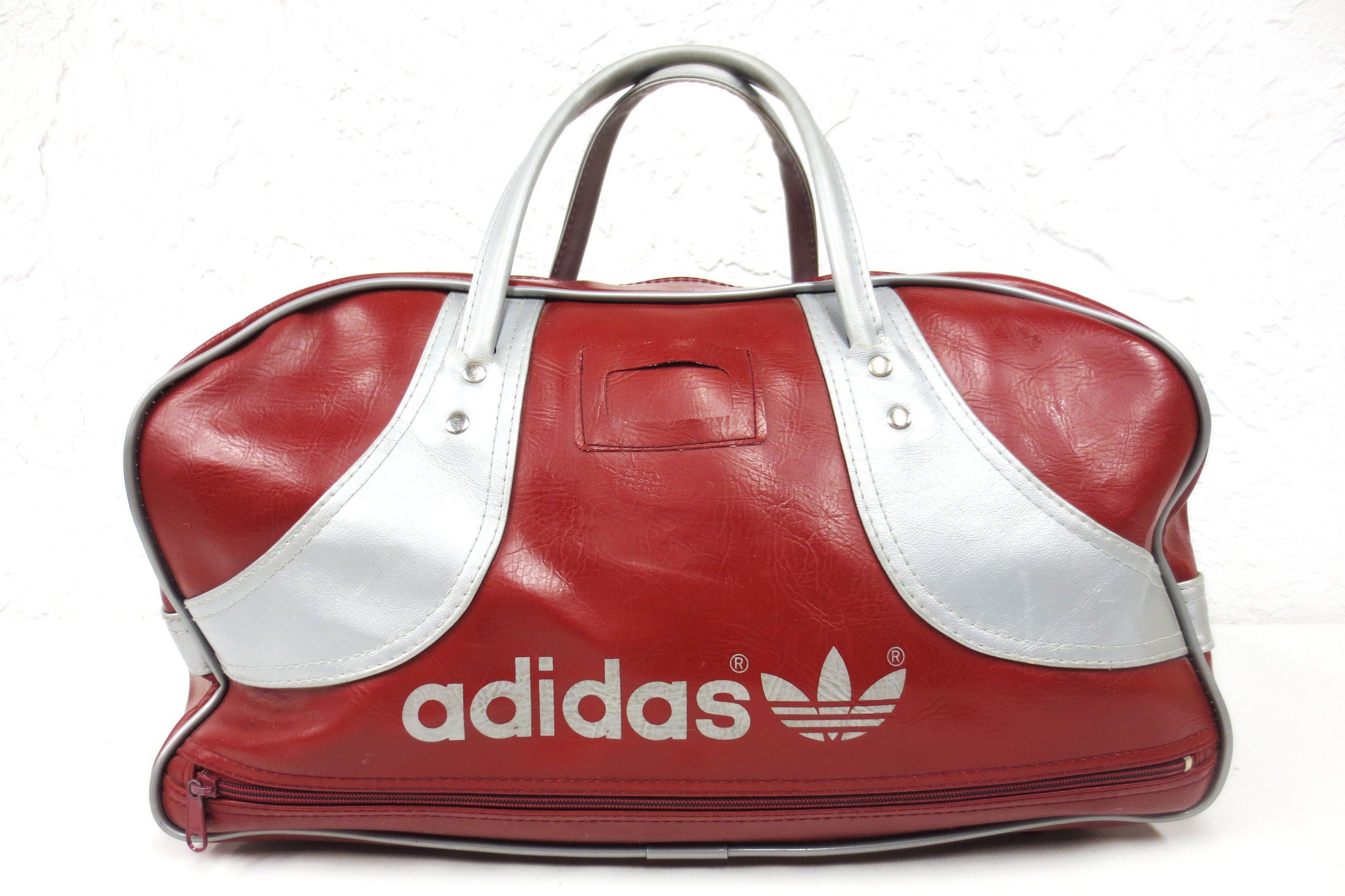 Vintage 1970s Sports Gym 20 Original Bag Adidas Duffel hCstQrd