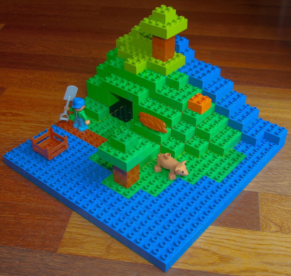 lego duplo minecraft lego duplo and lego
