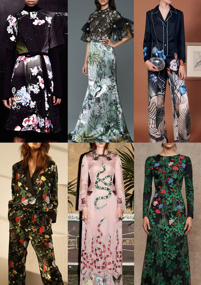 Patternbank have been painstakingly scouringthe currentPre-Autumn/Winter 2016/17 collections and have put together the strongest print trends alongside d