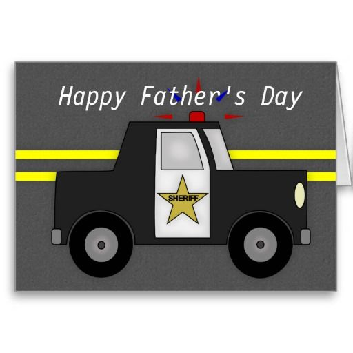card for daddy Hero card Police card Police man fathers day card