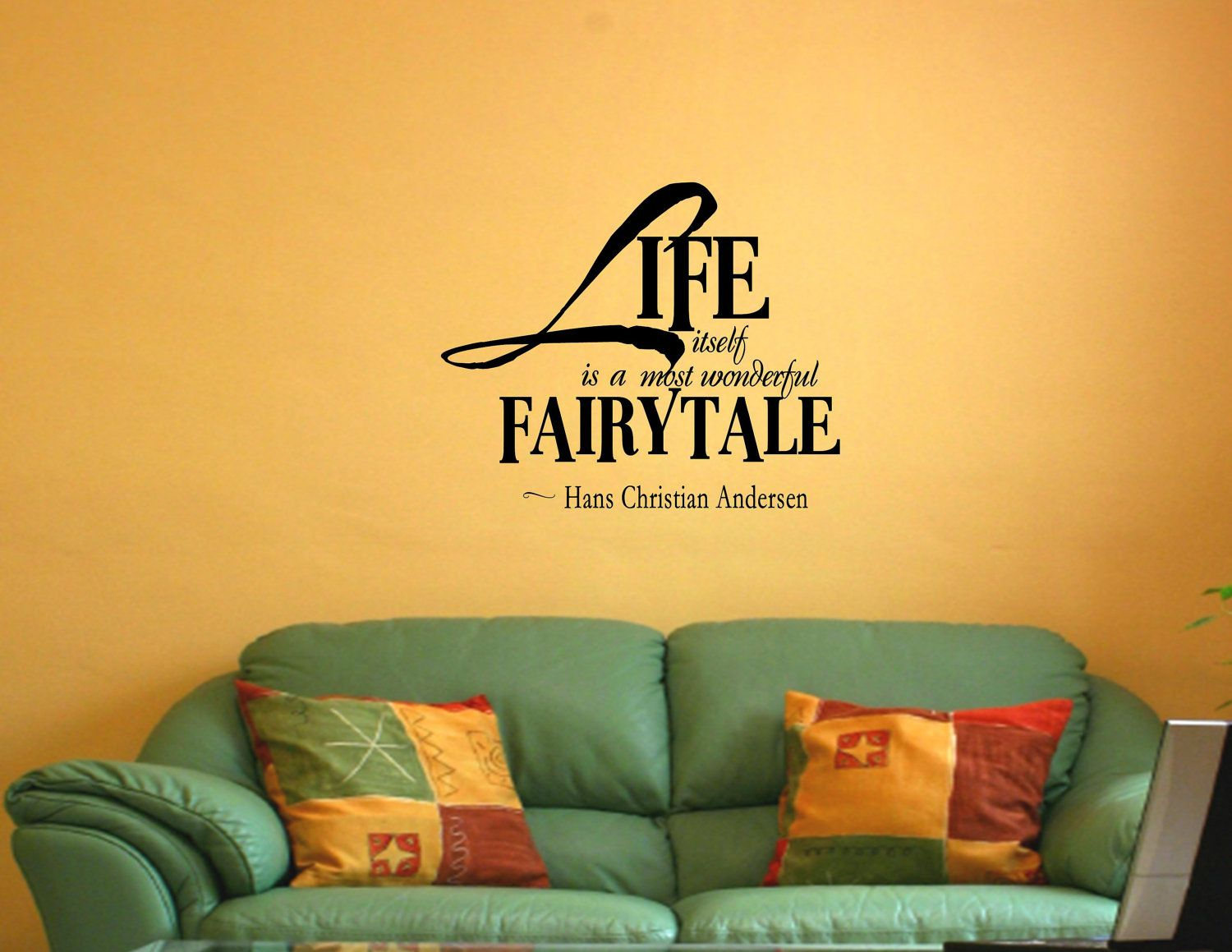 Life is a fairytale | Awesome Quotes | Pinterest | Wall words