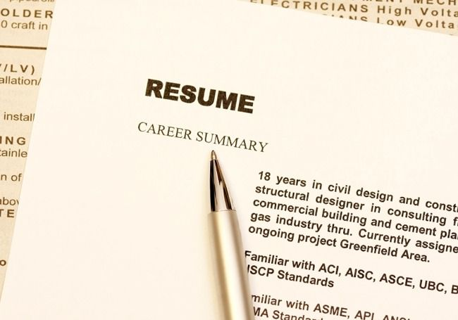 12 Myths About Writing Your Resume Career planning and Career - writing resume