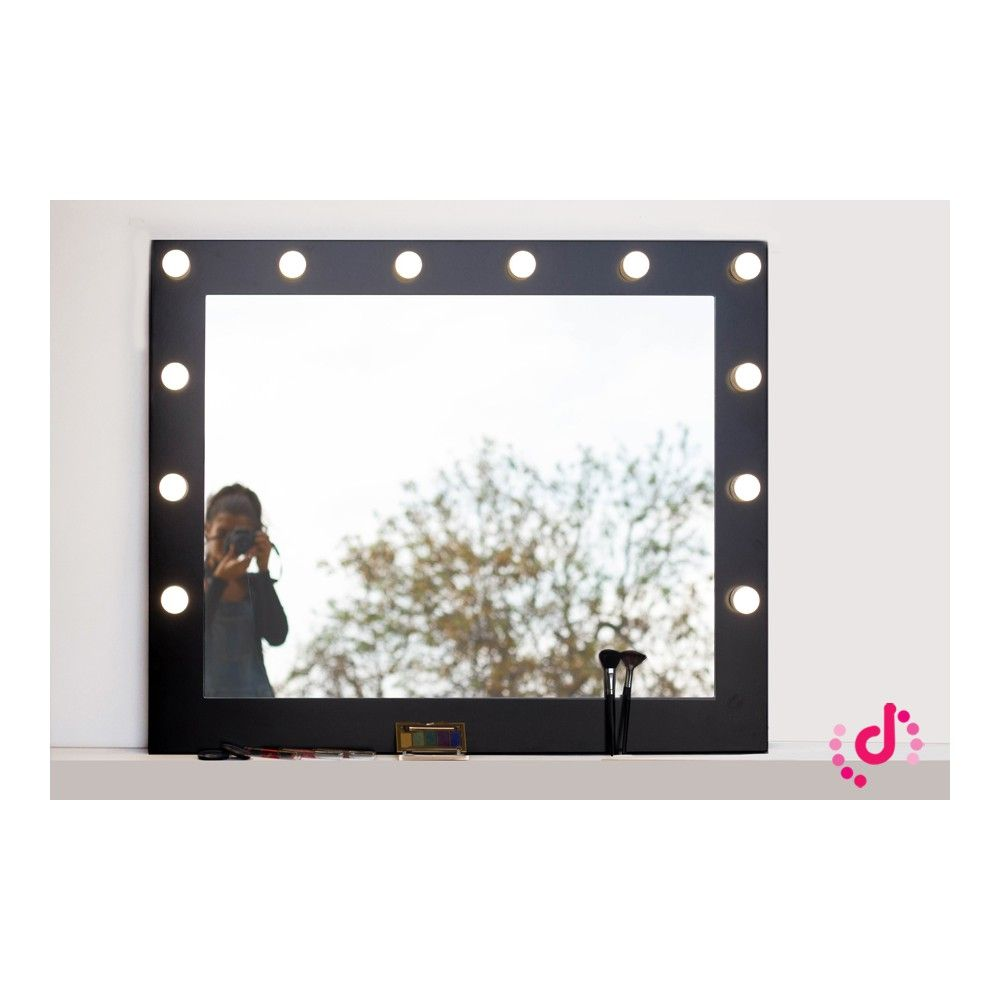 Espejo de maquillaje con luz espejo camerino espejo tocador 108x88 espejos de maquillaje - Espejos de tocador con luz ...