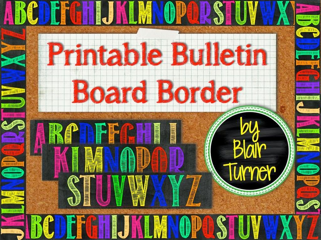 math borders for bulletin boards