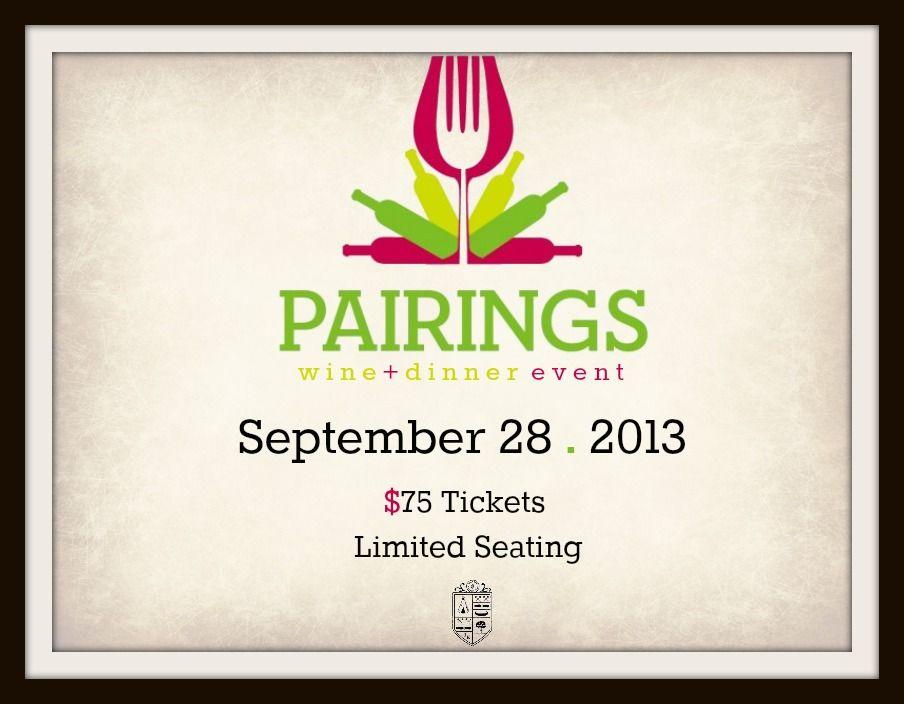 Wine Pairing Dinner Club Events, Flyers, Menus \ More Pinterest - dinner flyer