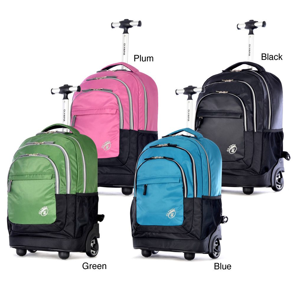 Olympia 'Gen-X' 19-inch Rolling Carry On Backpack by Olympia ...