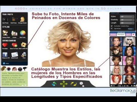 Corte de pelo virtual mujer