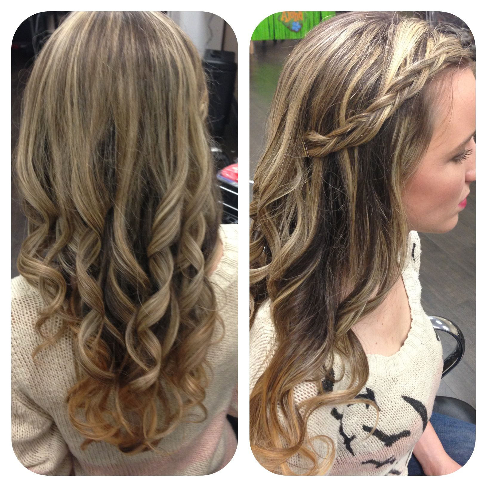 Pin By Teresa Garcia On Hair By Shanae Curled Hairstyles Picture Day Hair Graduation Hairstyles