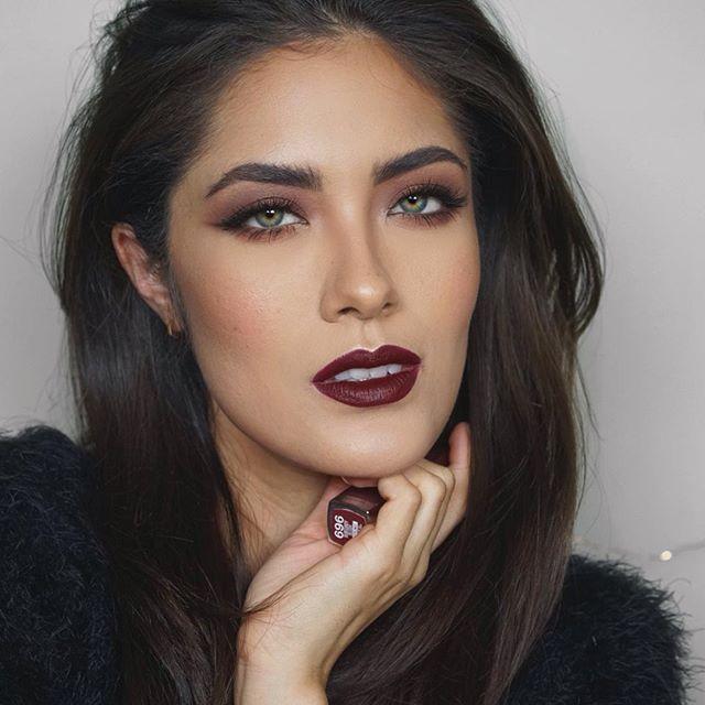 @maybelline Color Sensational Matte lip color in Burgundy Blush