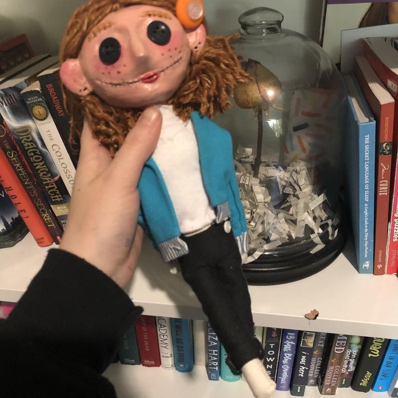 Custom Coraline Doll In 2020 Coraline Doll Coraline Coraline Aesthetic