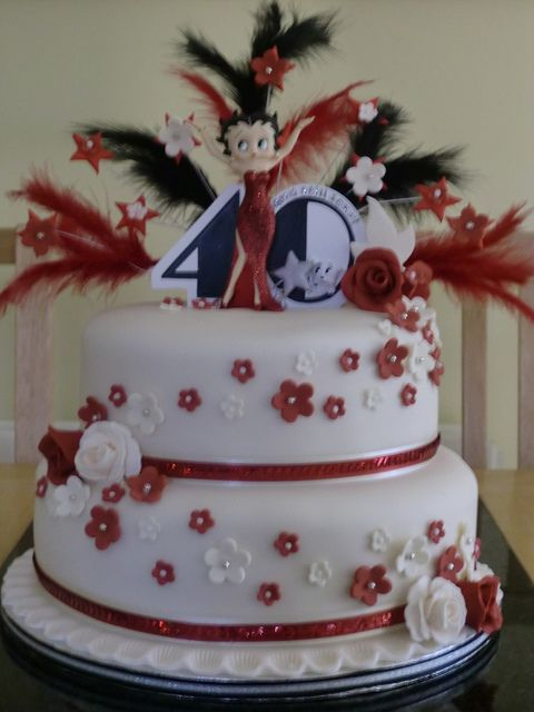 Great colours - Betty Boop Cake by alison.marley, via Flickr