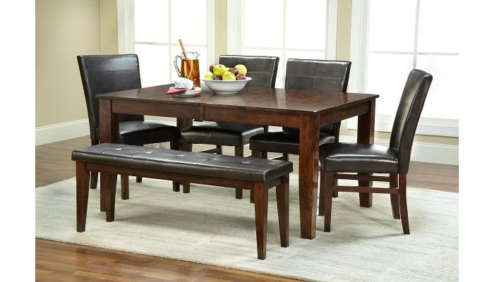 Astounding Slumberland Furniture Kona Collection Parsons Dining Set Gmtry Best Dining Table And Chair Ideas Images Gmtryco