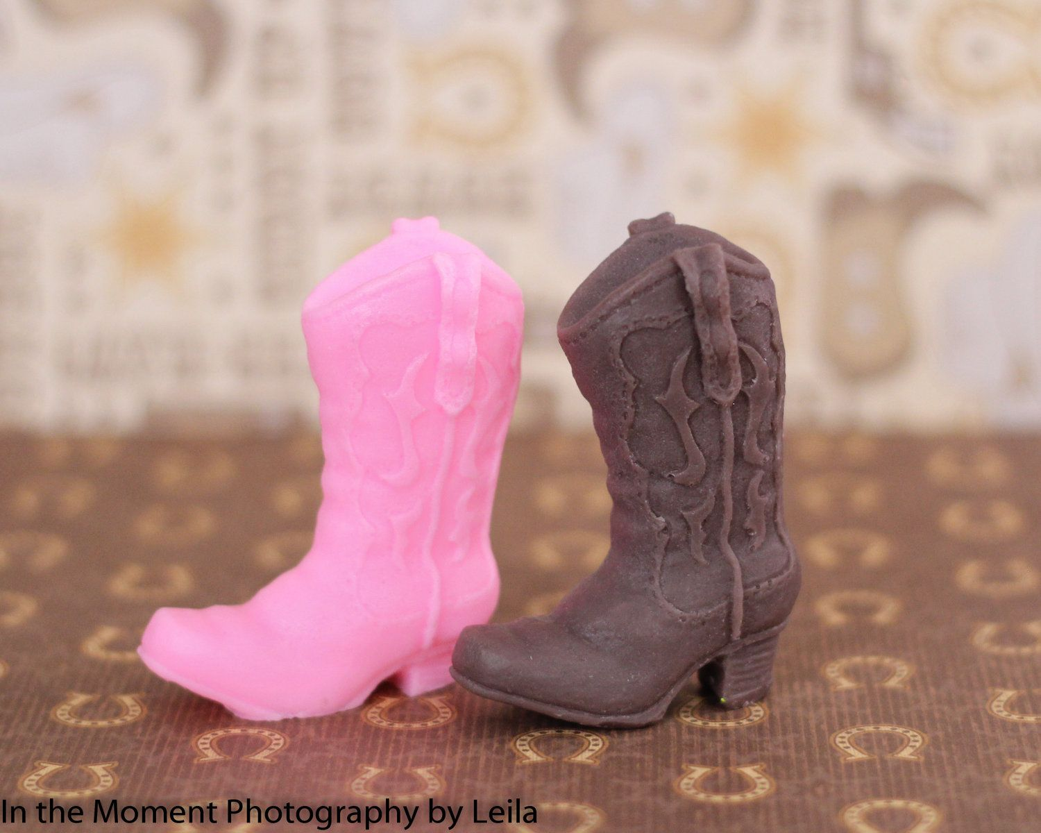 10 COWBOY BOOT SOAPS {Favors} - Western Bridal Shower Favor, Farm ...