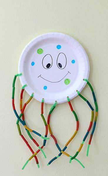 Fine Motor Octopus Craft for Kids #craftsforkids