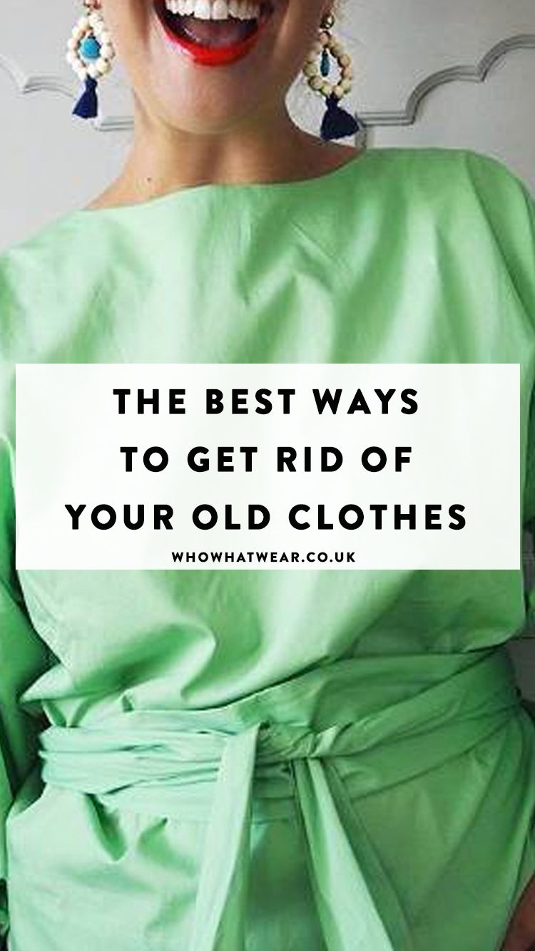 So You've Cleared Out Your Wardrobe—This Is How to Send It