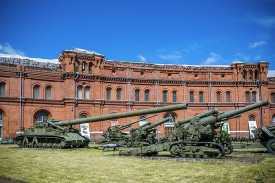 Military Historical Museum of Artillery in St. Petersburg · Russia travel blog