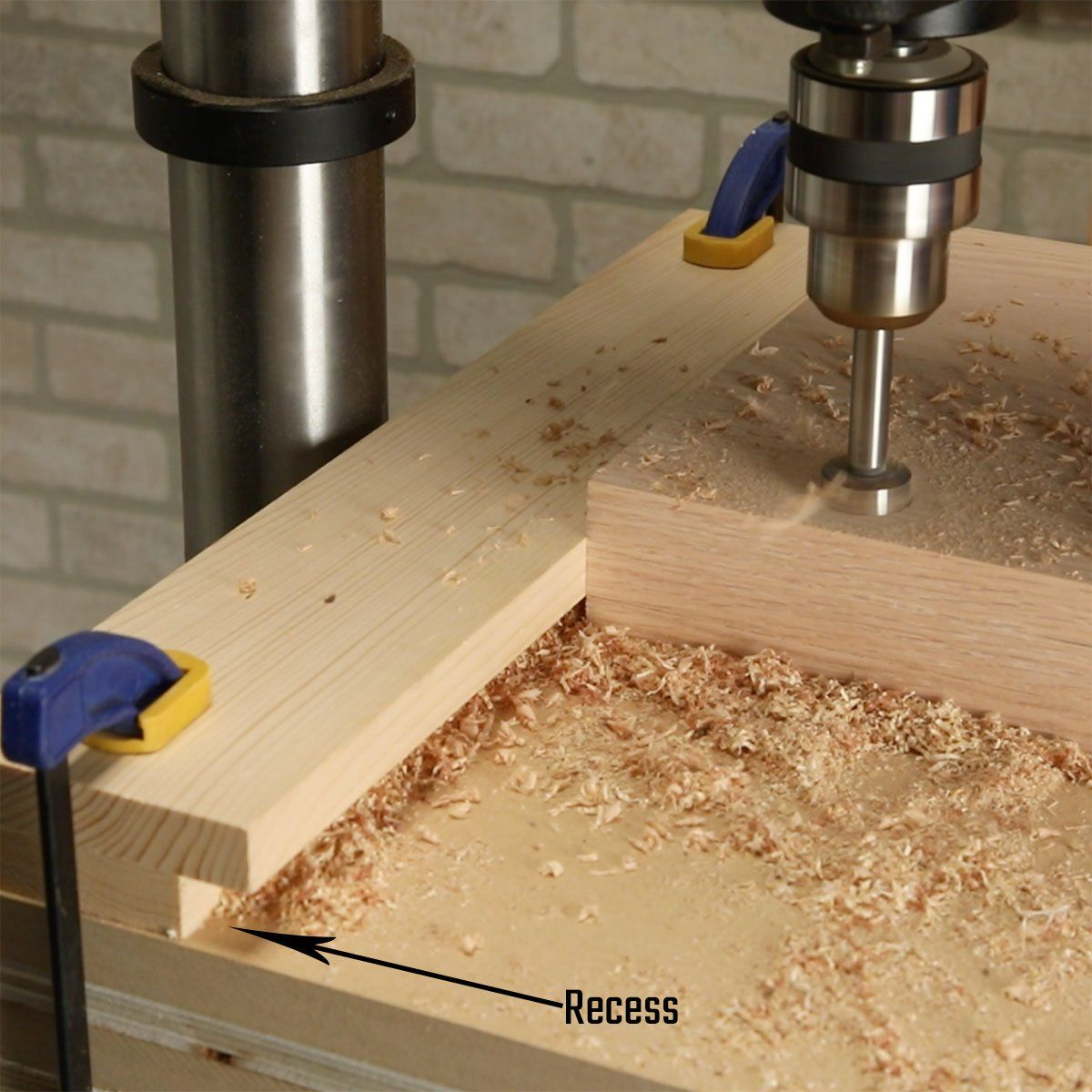 PRO TIP Prevent Sawdust Buildup (VIDEO) in 2020 Drill