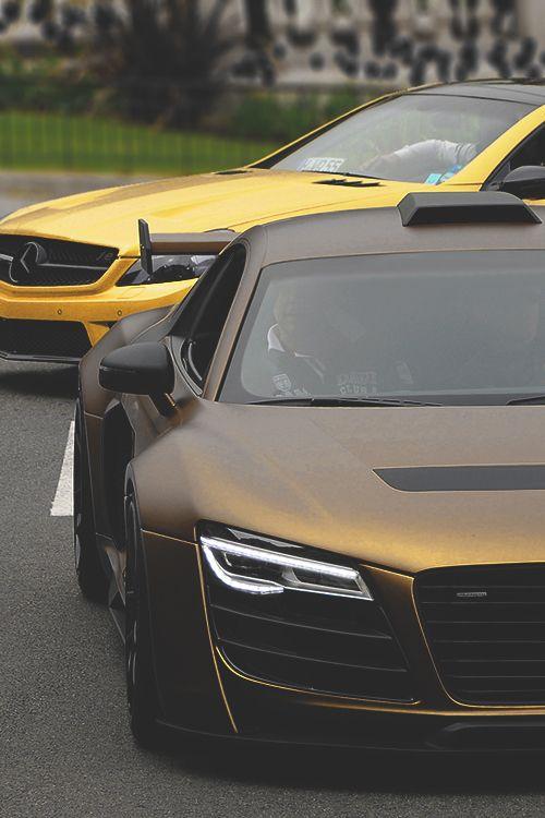 Matte Car Paint >> Awesome Matte Gold Audi R8 Pd Love The Audi S Color Its
