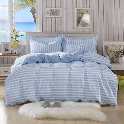 Beach Blue Only At Home Comforts Uk Bedset Beach