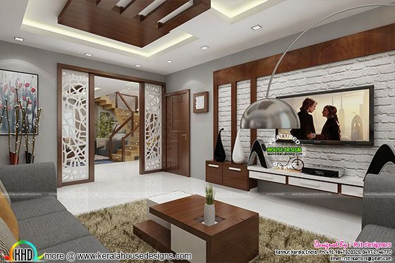 Posh Living Room Interior In 2020 Hall Room Design Living Room
