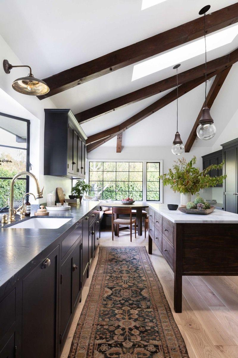 kitchen design advice from Amber Interiors // dark kitchen ...