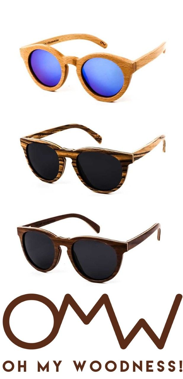 7f81b600ea5 OMW - Oh my Woodness! Wooden Sunglasses are so COOL!!! Wooden Sunglasses