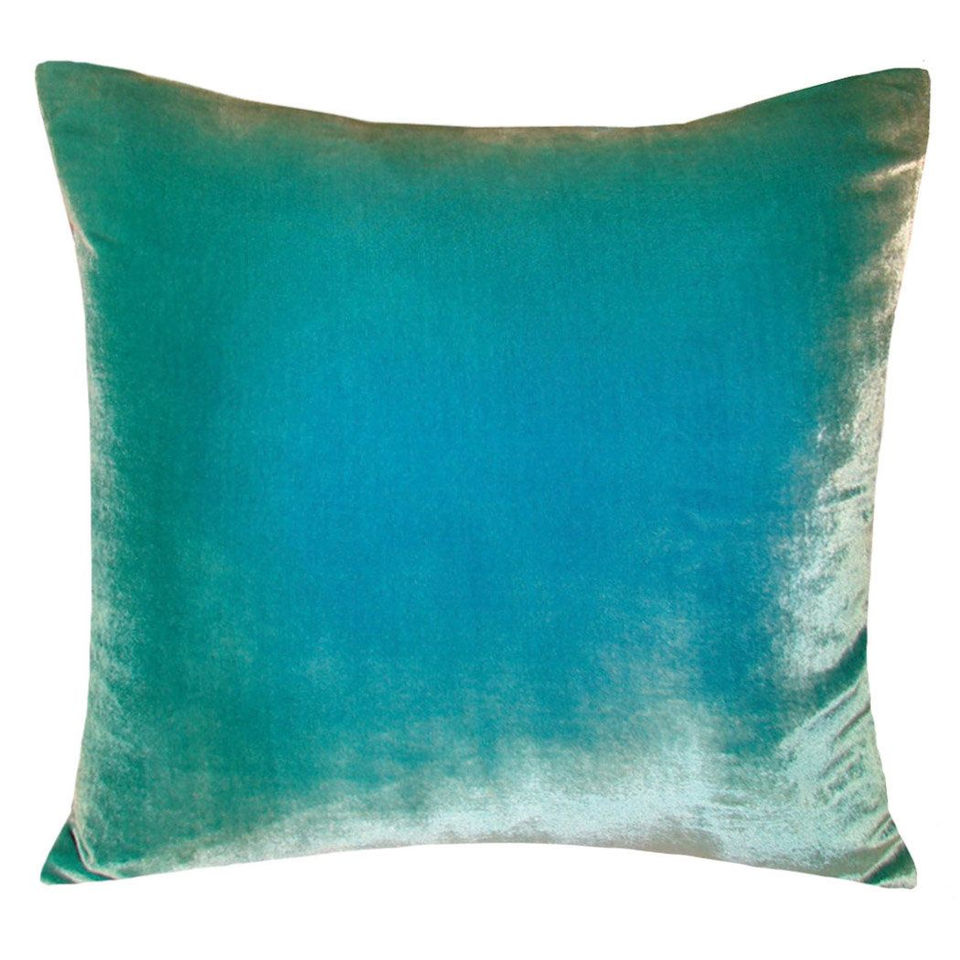 Ombre velvet throw pillow products pinterest throw pillows