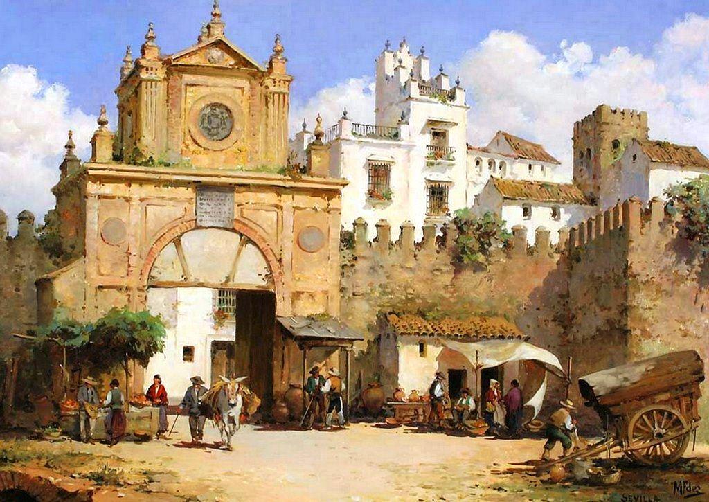 Manuel fern ndez garc a espa a naci en 1927 pintor - Casas sostenibles espana ...