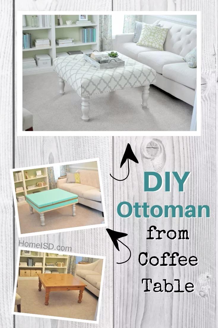 58 Easy Diy Ottoman Ideas You Can Make On A Budget Diy Ottoman Diy Storage Ottoman Interior Design [ 1102 x 735 Pixel ]