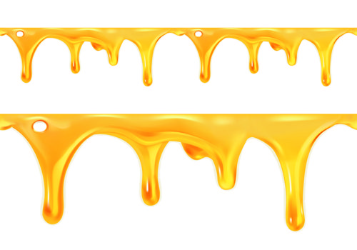 Bee Honey Dripping Effect Background Vector 04 Vector Background Free Download Honey Art Honey Illustration Honey Design