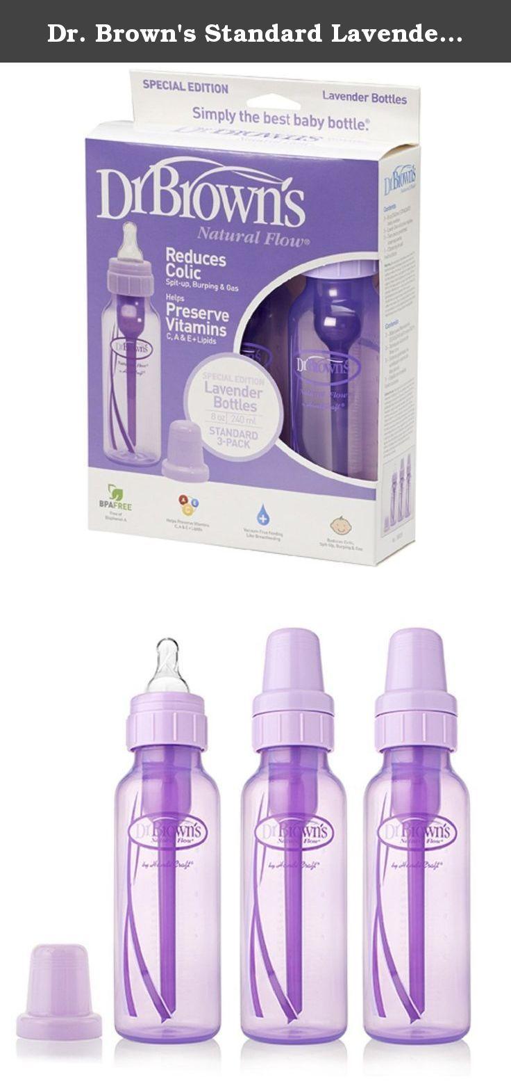 Dr browns standard lavender 8oz bottles 3pk by