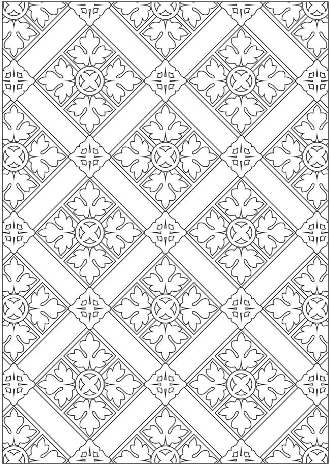 Welcome To Dover Publications Creative Haven Ornamental Designs Coloring Book