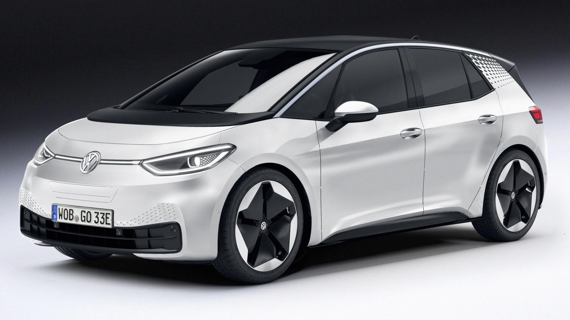 De Elektrische Volkswagen Id 3 Zou Niet Meer Kosten Dan Een Golf Tdi Volkswagen Elektrische Auto S Auto