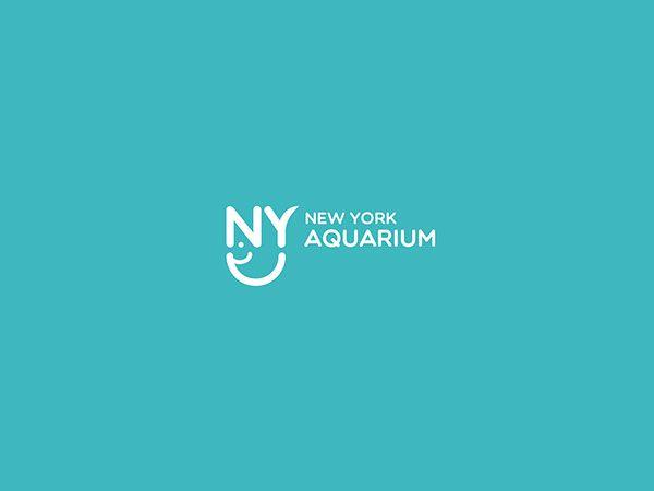 Re Branding New York Aquarium Logo And Packaging App Designs Too