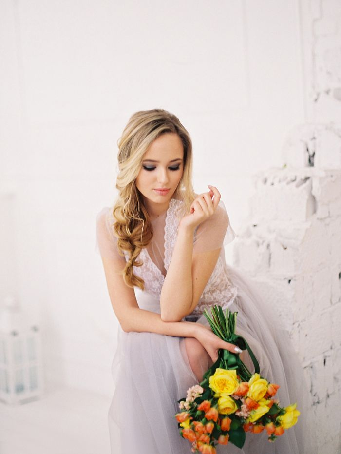 Ethereal Bridal Boudoir Session