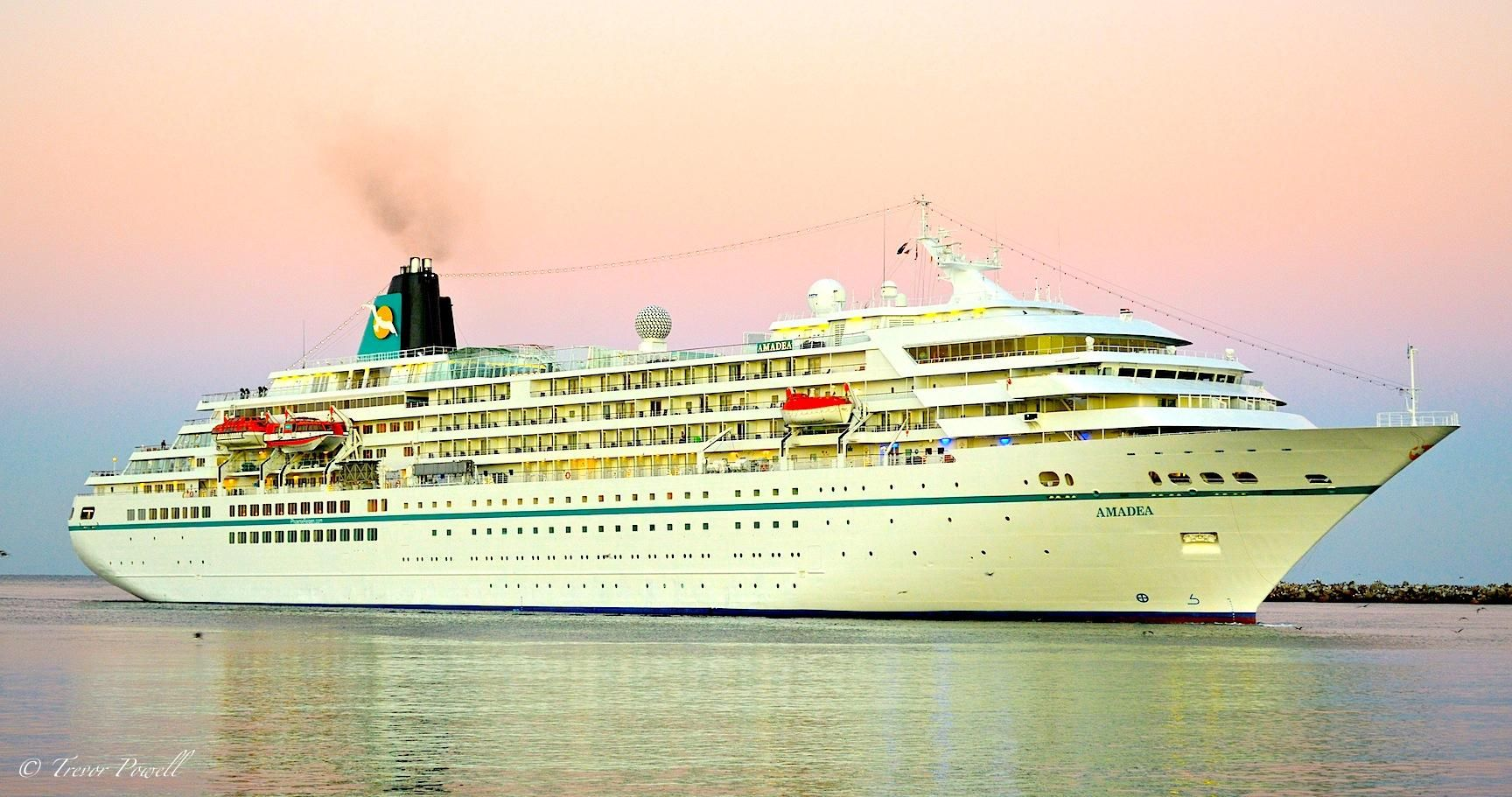 Carnival Fantasy Itinerary Schedule Current Position - Amadea cruise ship itinerary