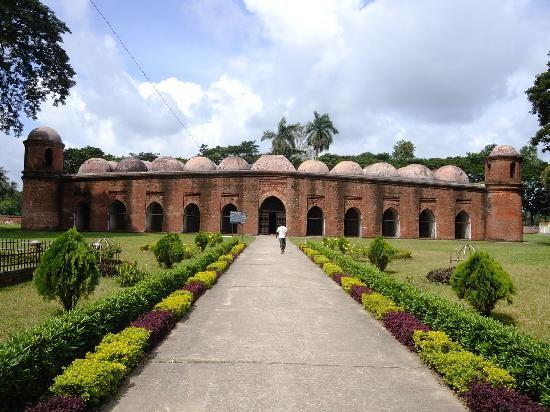 Shait Gumbad Mosque, Bagerhat, Bangladesh