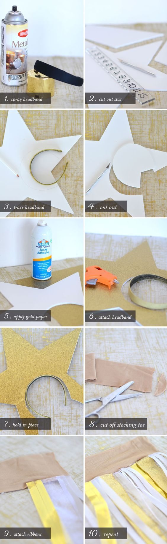 Diy shoot for the stars costumes pinterest costumes star just the headband for the star solutioingenieria Choice Image