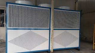 Máy lạnh chiller Gas R407C