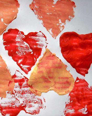 Activities: Valentine's Day Painting