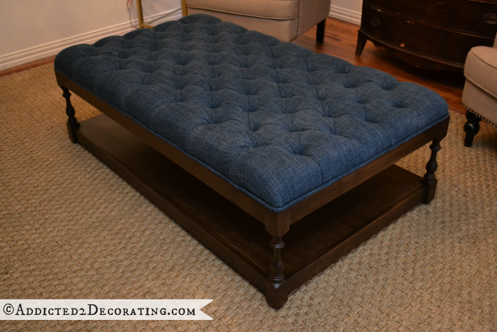Surprising Diy Ottoman Coffee Table Finished Future Home Ideas Machost Co Dining Chair Design Ideas Machostcouk
