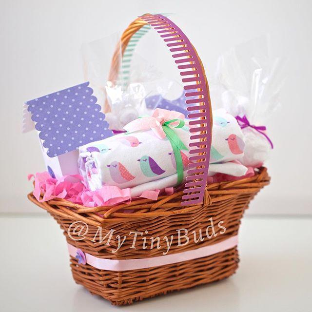 Instagram Photo By Mytinybuds My Tiny Buds هدايا مواليد Via Iconosquare Baby Gift Basket Baby Gifts Basket